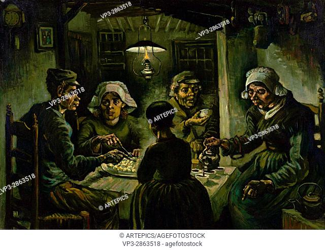 Vincent van Gogh - The potato eaters - Van Gogh Museum, Amsterdam