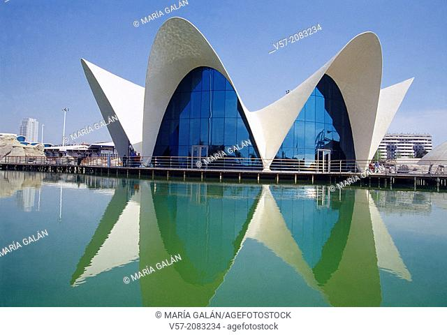 L'Oceanografic. City of Arts and Sciences, Valencia, Spain