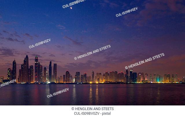 Skyline, Dubai Marina, UAE