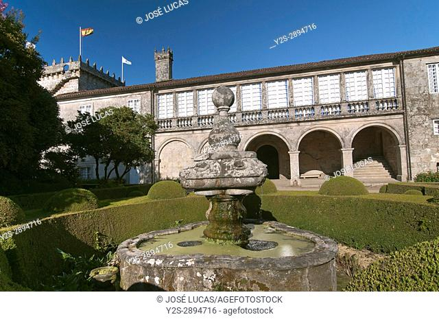 Pazo de Oca - 15th century, Pontevedra province, Region of Galicia, Spain, Europe