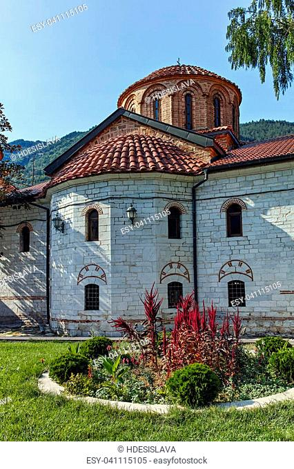 Ancient Buildings in Medieval Bachkovo Monastery, Bulgaria