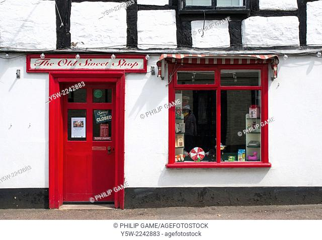 Small store in Upton-upon-Severn, Worcestershire, England