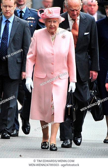 Queen Elizabeth II arrives in Liverpool Featuring: Queen Elizabeth II Where: Liverpool, United Kingdom When: 22 Jun 2016 Credit: Tim Edwards/WENN.com