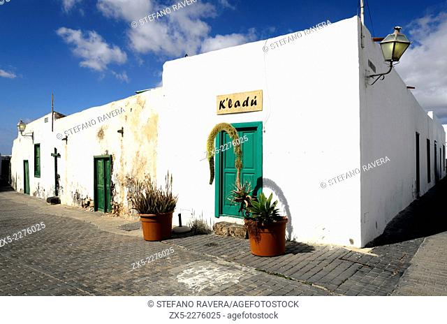 Maciot de Bethencourt Square in the old town of Teguise - Lanzarote, Canary Islands