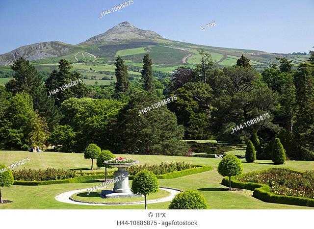 Powerscourt gardens Stock Photos and Images | age fotostock