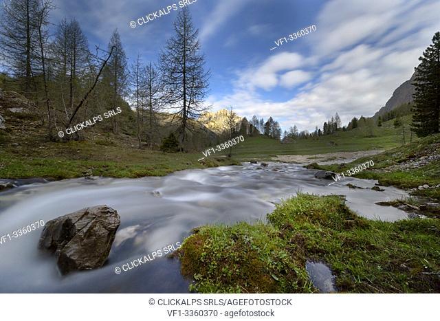 Europe, Alps,Italy, Trentino Alto-Adige,Dolomites,Fassa valley,