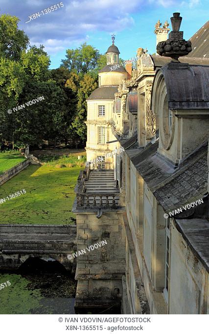 Chateau de Tanlay, Yonne department, Burgundy, France