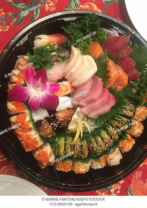 Sushi Plate, Boston, Massachusetts, USA