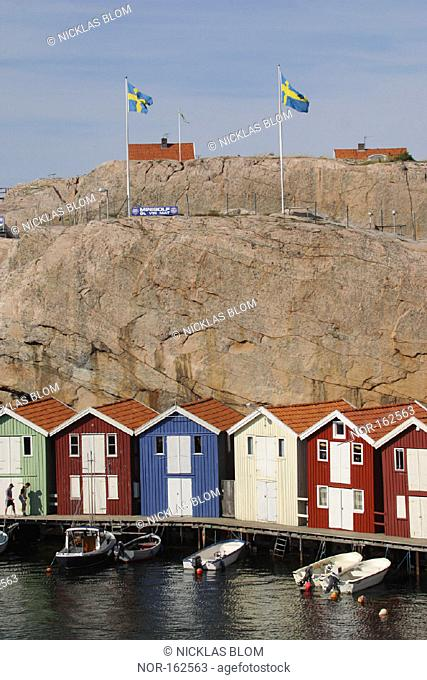 A Swedish coast settlement