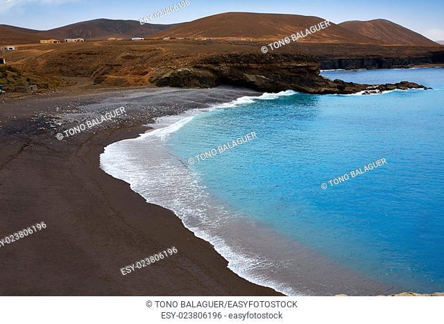 Ajuy beach Fuerteventura at Canary Islands of Spain