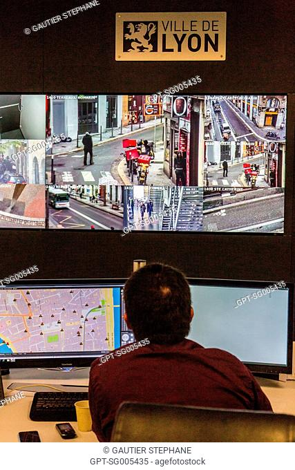 VIDEO-PROTECTION SURVEILLANCE SUPERVISION CENTER OF THE CITY OF LYON