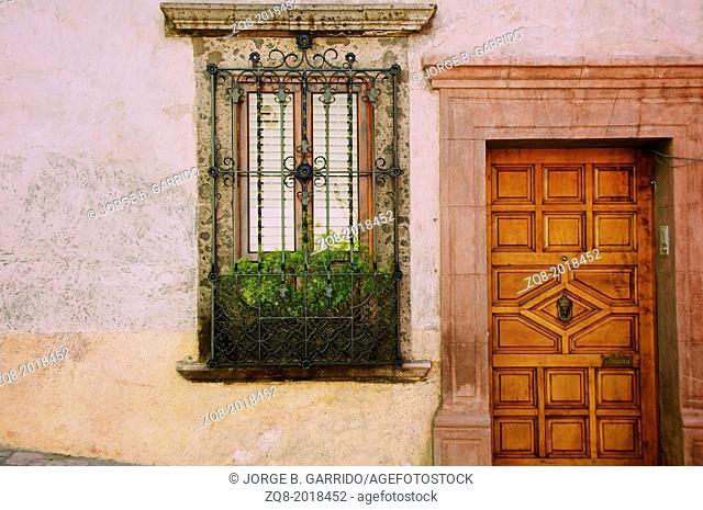 Charming street scenes in historic San Miguel de Allende