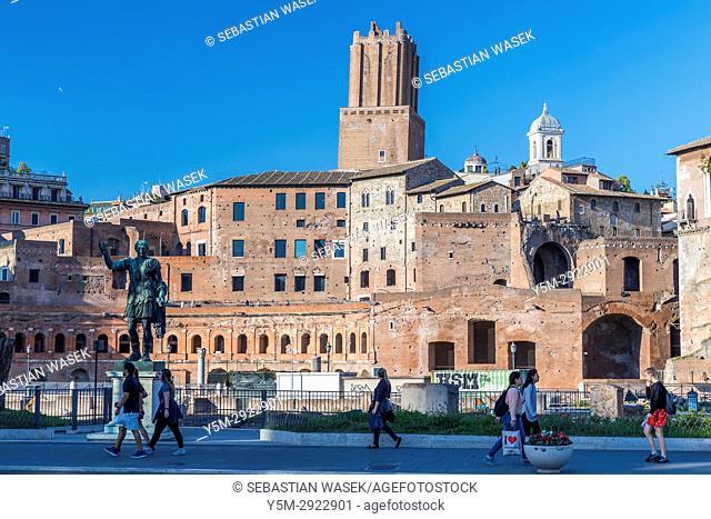 Trajan's Forum, Rome, Lazio, Italy, Europe