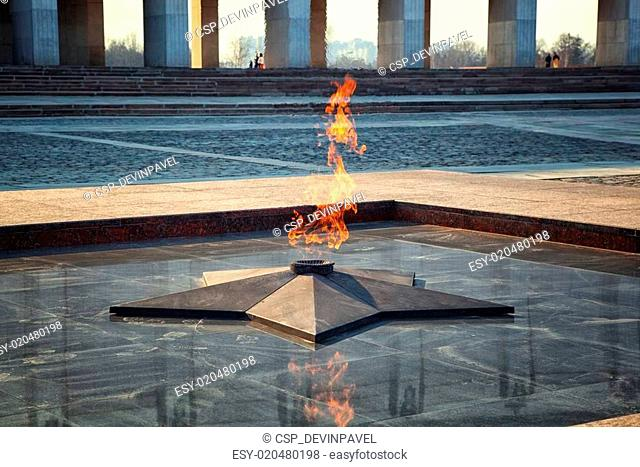 Eternal Flame - symbol of victory