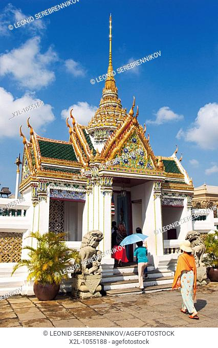 Entrance gate to the Dusit Group of the Grand Palace  Bangkok, Thailand