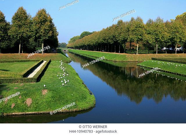Germany, Europe, Kleve, Lower Rhine, Rhineland, North Rhine-Westphalia, NRW, prince Johann Moritz von Nassau-Siegen, prince Moritz park, scenery, landscape