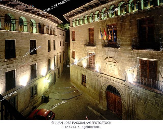 Sos del Rey Católico. Zaragoza province, Aragón, Spain