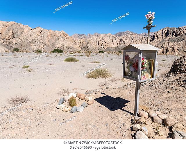 Quebrada de Las Flechas in the region Valles Calchaquies, province Salta. South America, Argentina, Cafayate, November