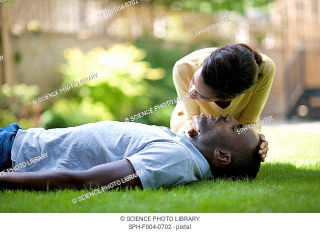 Adult cardiopulmonary resuscitation CPR