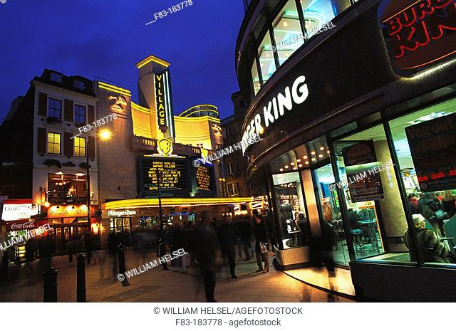 Leicester Square. London. England