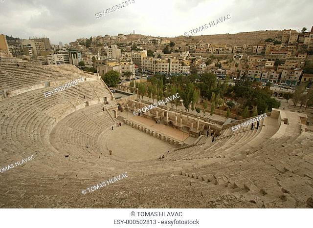 Rome theatre in Amman