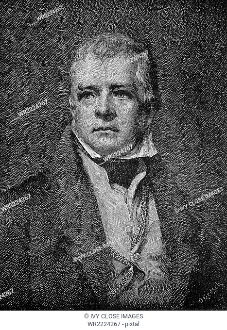 Sir Walter Scott (1771-1832) was a Scottish novelist and poet. Scott is often credited as the invention of the historical novel