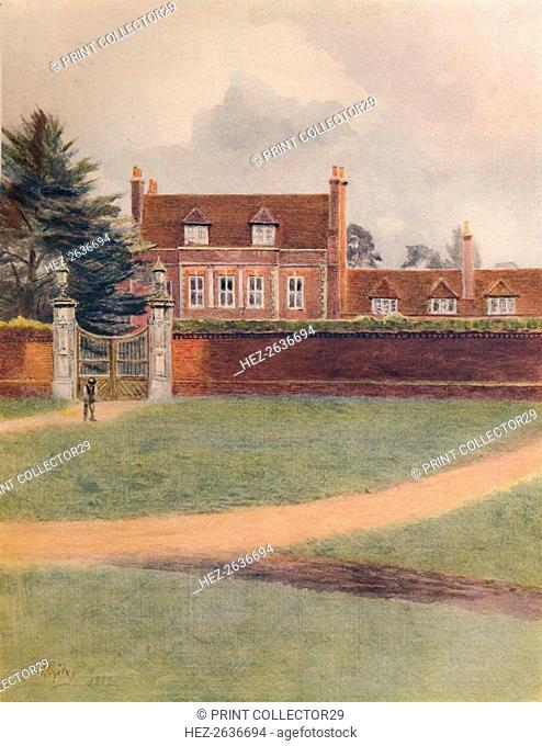 'Byefleet Park', 1912, (1914). Artist: James S Ogilvy