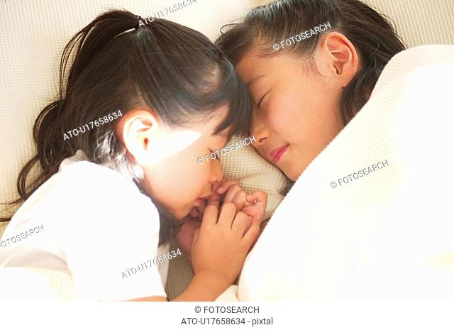 Young Girls sleeping