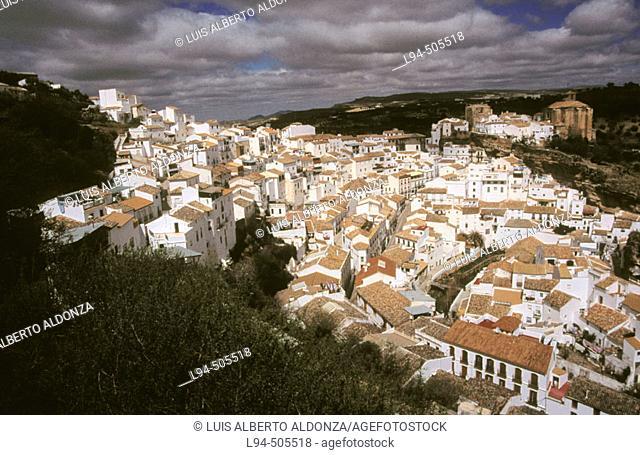 Setenil de las Bodegas. Cádiz province. Andalusia. Spain