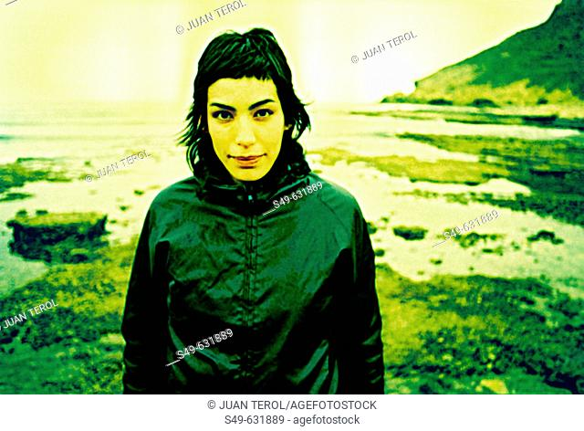 Woman. Almeria , Andalusia, Spain