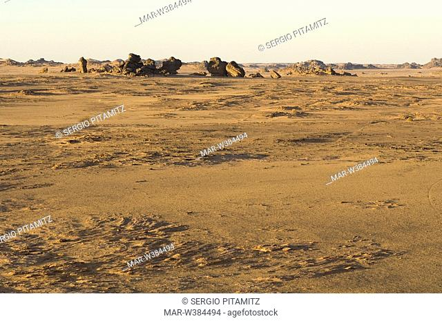 akakus, sahara desert, fezzan, libya, africa