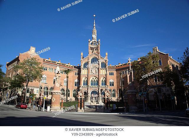 Ambulance, Barcelona, Catalonia, Spain