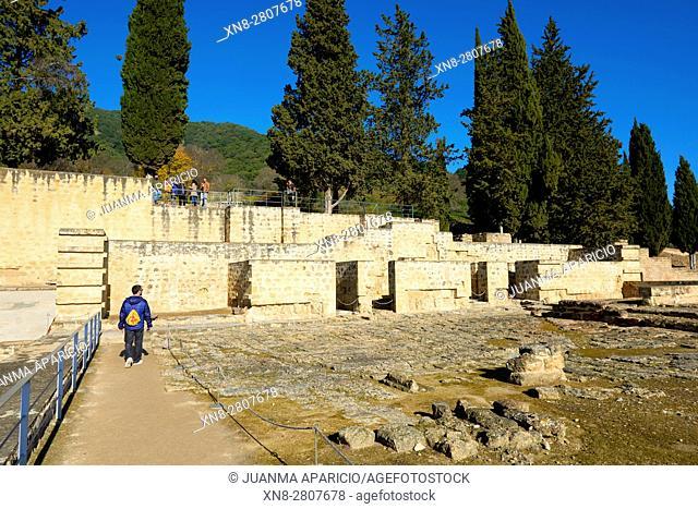 Medina Azahara (Medinat al-Zahra)(Abderramán III (Abd al-Rahman III, al-Nasir)), residence of the andalusian Calif, Province Cordoba, Andalucia, Spain, Europe
