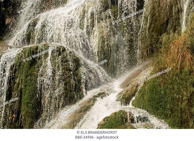 Waterfall at Baumes-et-les-messieurs