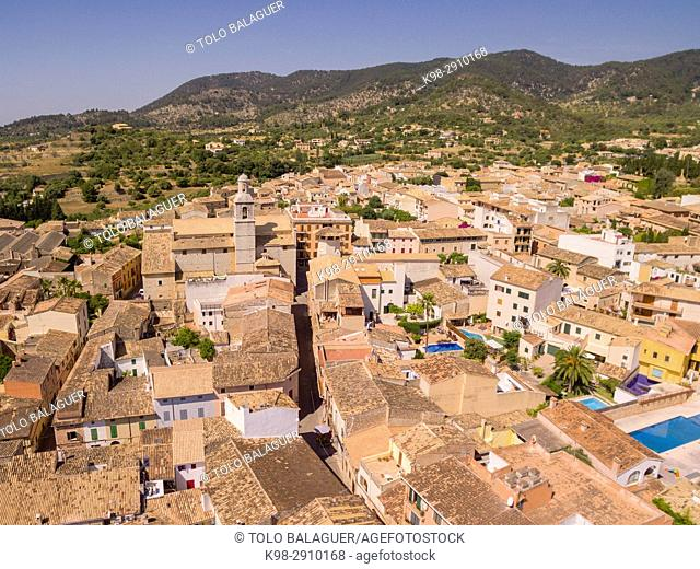 Alaró, comarca de Raiguer, Mallorca, Balearic Islands, Spain
