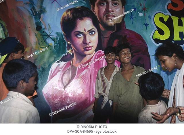 bollywood posters and children