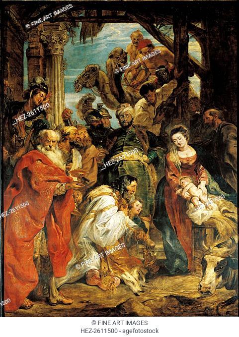 The Adoration of the Magi, 1624. Artist: Rubens, Pieter Paul (1577-1640)