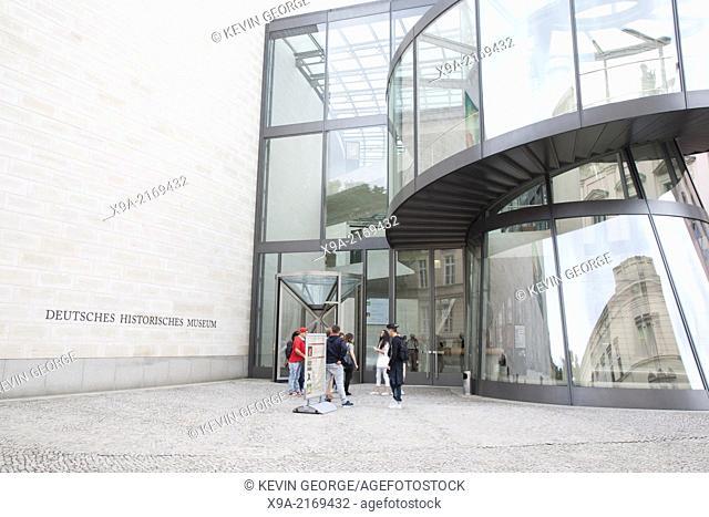 IM Pei Bau Annexe of Deutches Historisches - German History Museum, Berlin, Germany