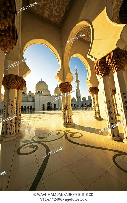 Sheik Zayed Mosque, Grand Mosque, Abu Dhabi, UAE