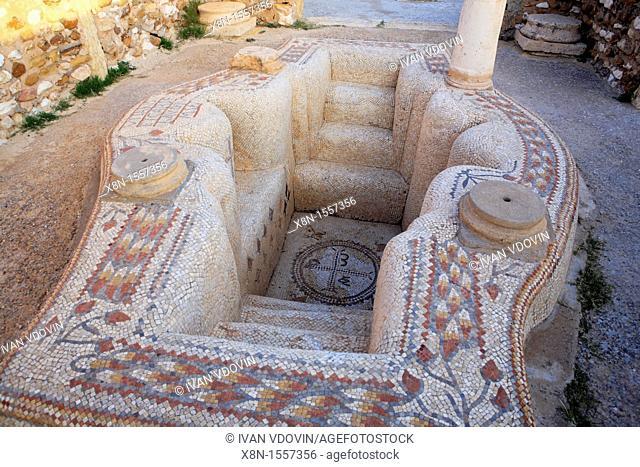 Byzantine church 6th century, Sbeitla, Tunisia