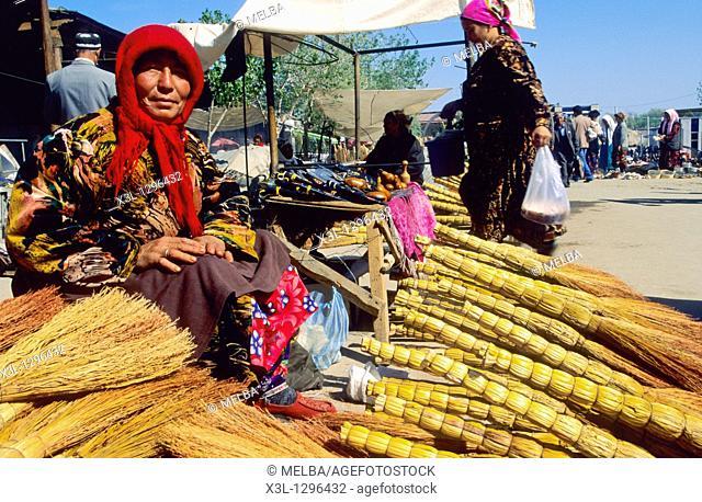 Bazar in Samarkand  Uzbekistan