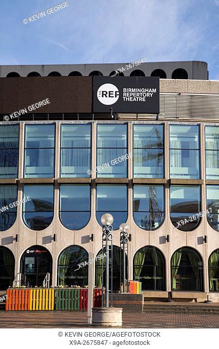 Repertory Theatre; Centenary Square, Birmingham; England