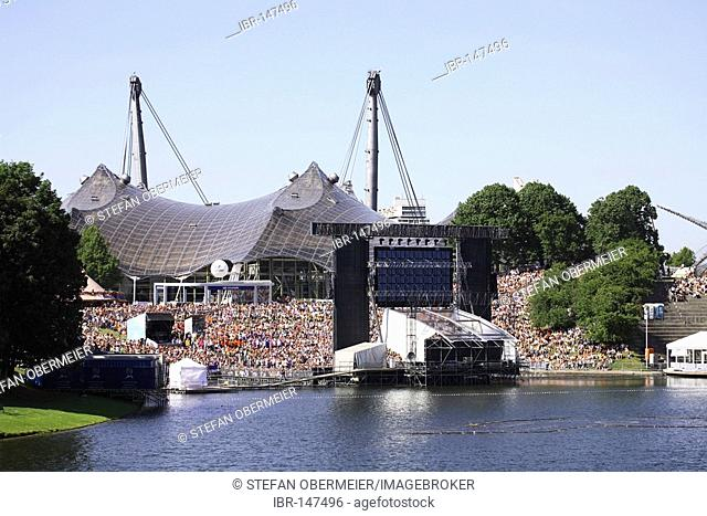 Theatron, Olympic park, Munich, Germany