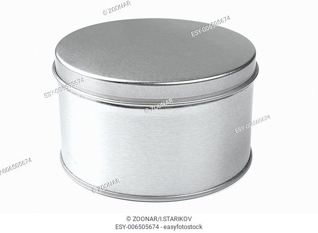 Metal round box
