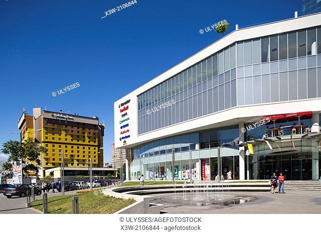 shopping center, zmaja od bosne street, sarajevo, bosnia and herzegovina, europe