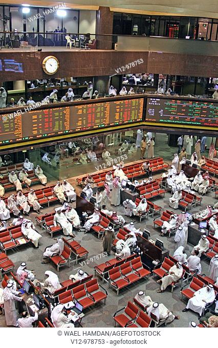 Stock Exchange at Kuwait City, Kuwait
