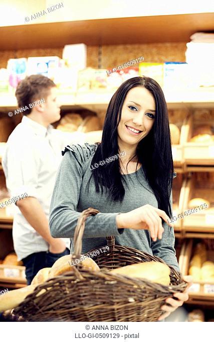 Fresh baked bread Debica, Poland