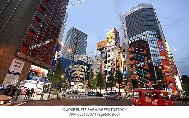 Japan-Tokyo City-Akihabara Electric Town