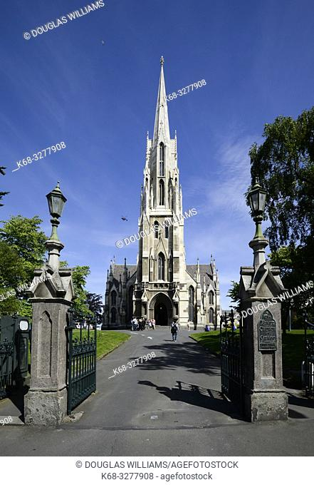Knox Church in Dunedin, South Island, New Zealand