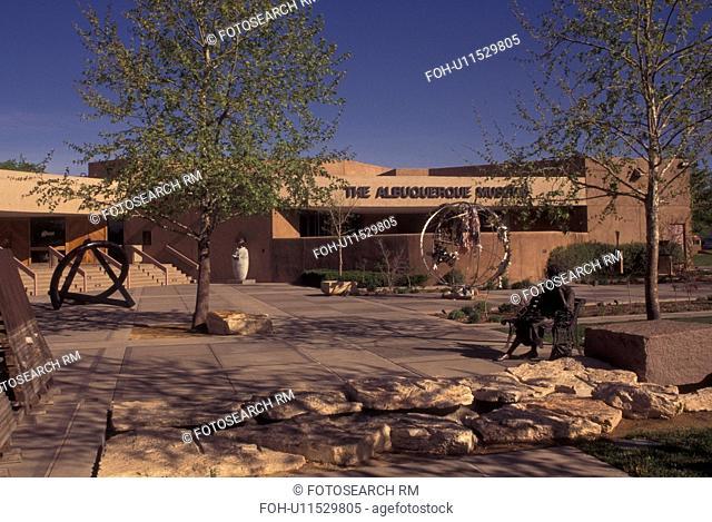 Albuquerque, NM, New Mexico, Albuquerque Museum, outdoor sculpture